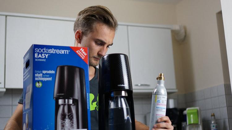 Lieferumfang SodaStream Wassersprudler Easy