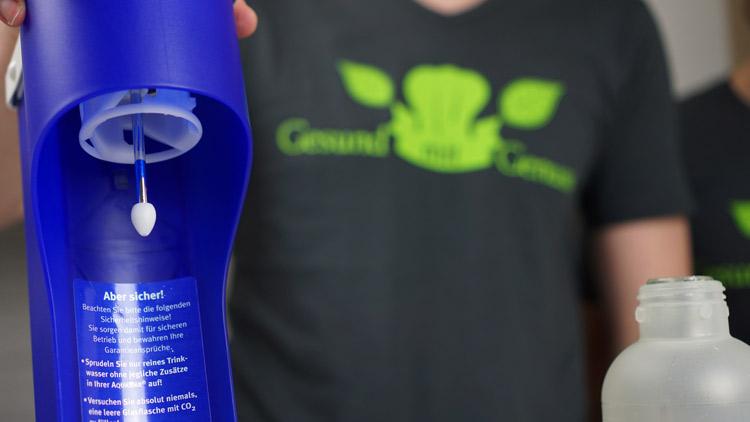 Verarbeitung der Aquabar - 100 % Plastik