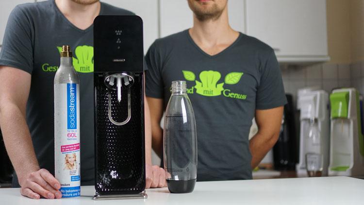 Soda Stream Source mit Zubehör