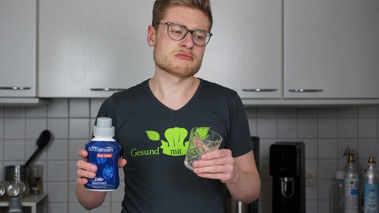 Cola Sirup SodaStream Test