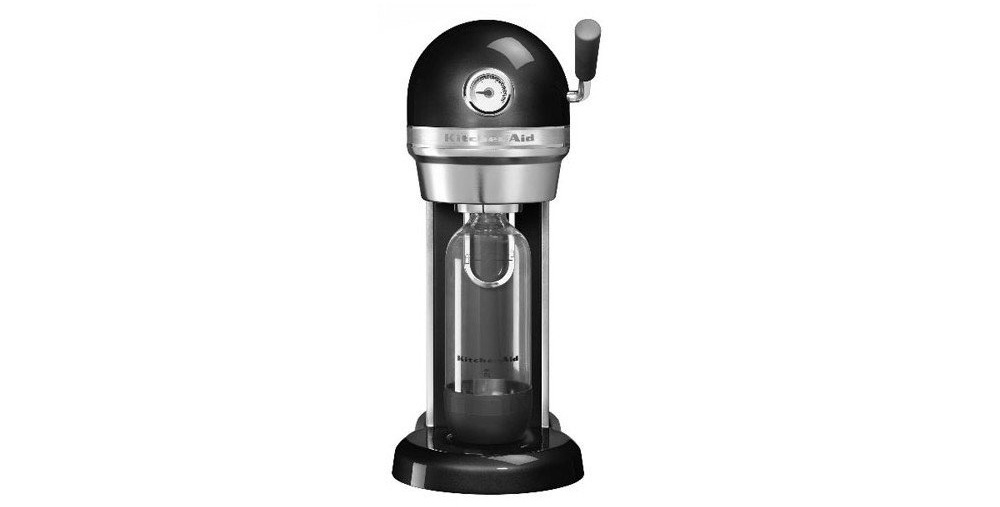 KitchenAid SodaStream in schwarz