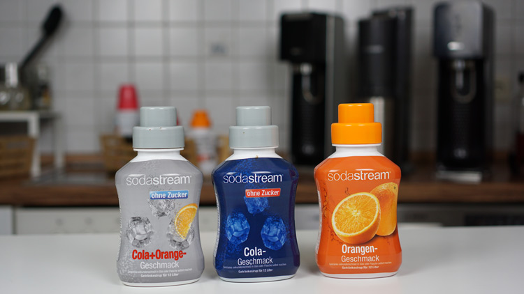 SodaStream Sirup 500 ml Sorten