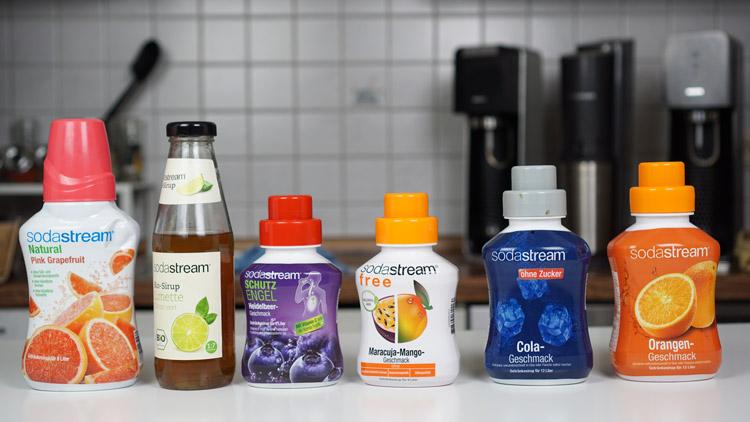 SodaStream Sirup Sorten