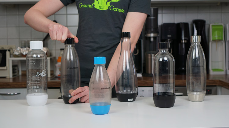 Wassersprudler PET Flaschen