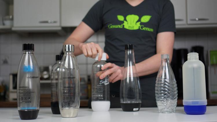 Wassersprudler Flaschen