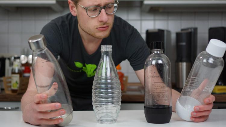 Welche Wassersprudler Flasche kaufen?