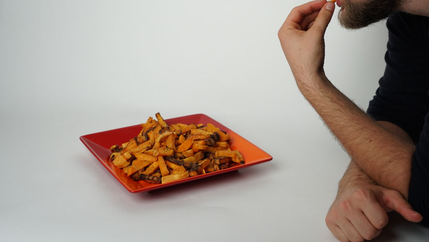 Suesskartoffelpommes-lecker