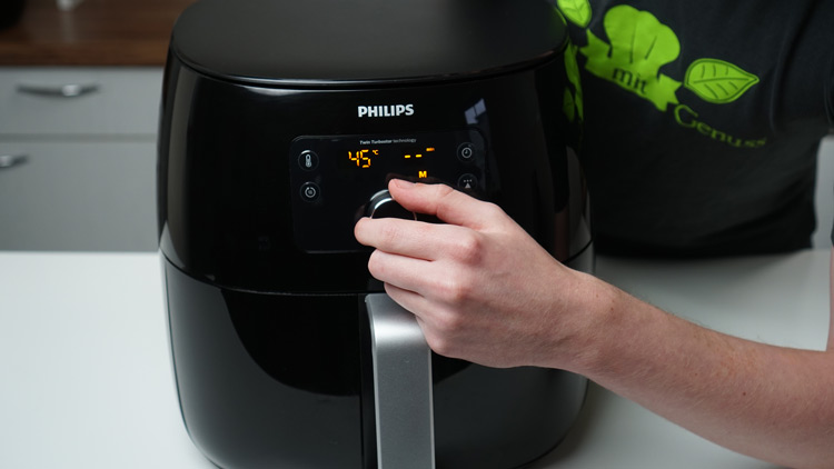 Philips XXL Temperatureinstellung